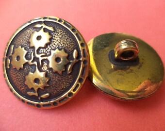 11 buttons brass 20mm (945) button