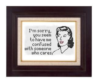 someone who cares cross stitch pattern