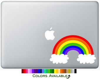 Rainbow Laptop Decal