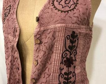 Presh Vintage Pink Vest