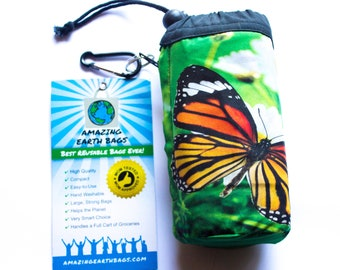 5 Bag Set! Amazing Reusable shopping grocery camping Bags !!!  Monarch