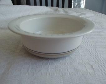 Ceramic bowl. Arctica bowl. Arabia Finland. Arctica Seita Bowl. Seita Arabia bowl. Breakfast bowl. Finnish Vintage 1970