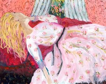 Fragrant Daydream 72x48 Original Painting