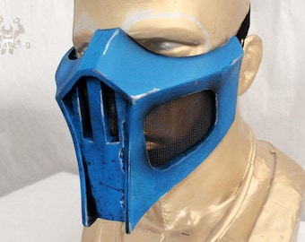 Sub-Zero Mortal Kombat Mask Replica Forjadict3d. Fan Art.
