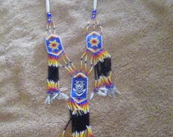 Native beadwork neclace