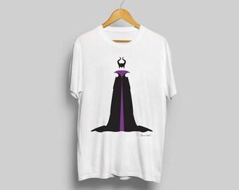 Disney's Maleficent T-Shirt - minimalist sleeping beauty maleficent t shirt clothing art apparel popsugar