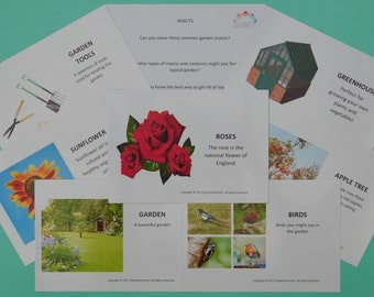 Dementia Activity/Activities - Reminisce Together Cards – In the Garden