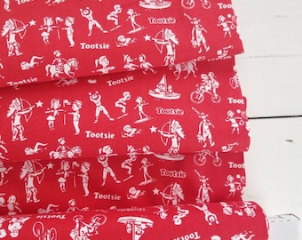 It's Tootsie Roll Time - Tootsie Wrapper(Red) - Riley Blake Designs