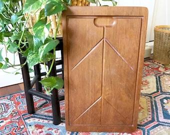 Vintage Large wood cutting board / Sweden Holmberg