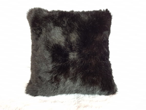 in from black waterfall ivory beyond bath pillows fur buy pillow set bed of faux