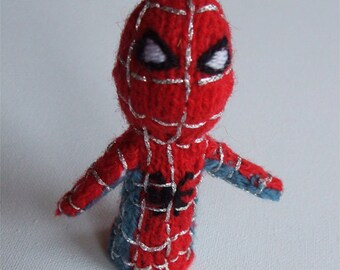 Spiderman style Finger Puppet - LAST ONE