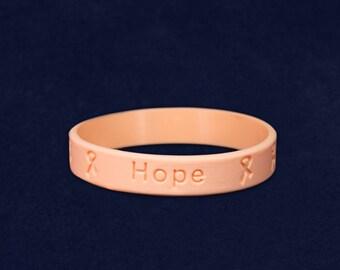 Child Peach Silicone Bracelet (RE-SILBC-20)