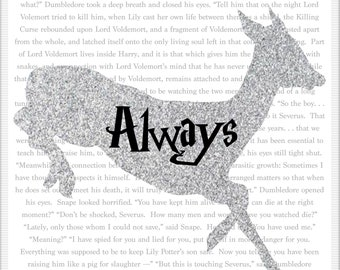 After all this time, Always Quote Printable 8x10 Poster