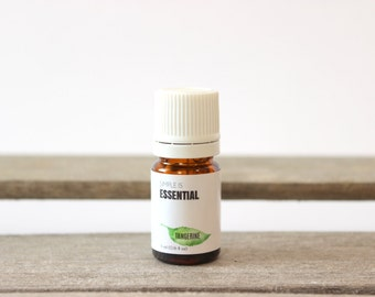 Tangerine Essential Oil - Aromatherapy Essential Oil, Citrus Essential Oil, Satsuma Essential Oil, Satsuma Essential Oil, Fresh Citrus Scent