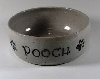 Ceramic Dog Bowl- Ceramic Water Bowl - Ceramic Food Bowl - Pet Food Dish -Stoneware Dog Bowl - Dog Dish-Dog Bowl- Pet Feeder