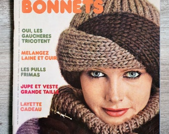 My knitting magazine book M147 Special hats (Vintage)