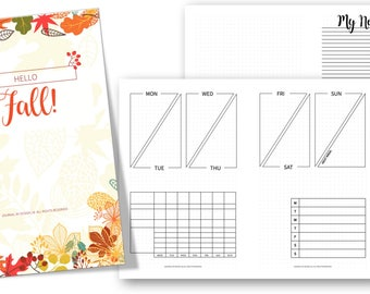 PRINTABLE - Chic-Tangle Planner Inserts (WITHOUT HEADERS)