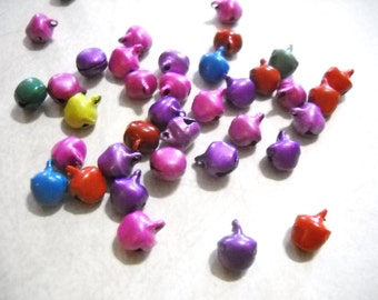 Bell Charms Assorted Charms Bulk Charms Wholesale Charms Bells Jingle Bells-100 pieces