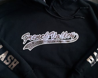 Add a Name, Jersey Number, or Custom Wording to the Sleeve of Your Custom Team Sweatshirt