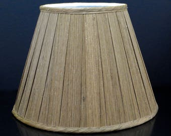 Fabric lampshade etsy silk boxed pleat lampshade aloadofball Images