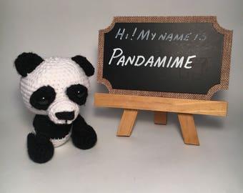 Panda Stuffed Animal - Panda Gifts - Stuffed Toys - Panda Plush - Handmade Stuffed Animals  - Panda Nursery Decor - Panda Baby Shower