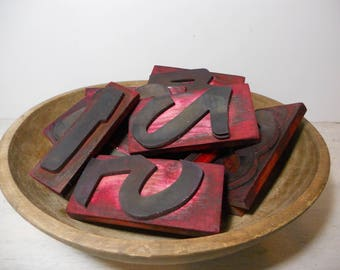 Vintage Sign Makers Number Stamps - Rubber Stamps - Industrial