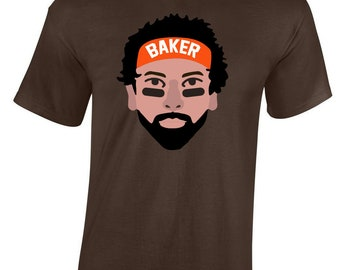 """Brown Cleveland Mayfield """"Mayfield Pic"""" T-shirt"""