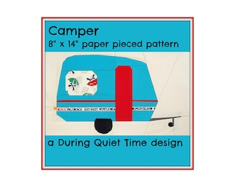 Camper Paper Pieced Pattern