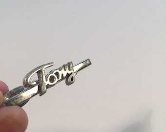 On Sale Vintage Tie Bar Tony 1960s Mid Century Mad Men Mod Anthony