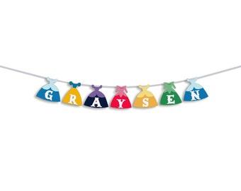Princess Birthday Party Custom Name Banner, Disney Princess  Birthday Party, First Birthday, Princess birthday party