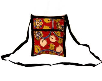 Kalamkari Mini Cross body Sling Bag
