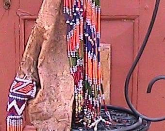 Bedouin Beaded water bag
