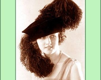 1930 Millinery Book Flapper Hat Making Make Roaring 20s Hats Milliner DIY Guide Lessons
