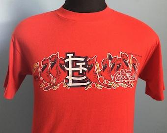 80s Vintage St. Louis Cardinals 1988 mlb baseball T-Shirt - MEDIUM