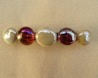 Pebble Barrette 4 inch