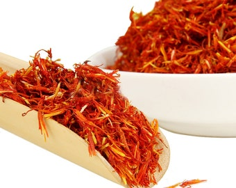 Chinese Saffron - Decaffeinated - Chinese Tea - Herbal Tea - Flower Tea - Loose Leaf Tea - FREE Shipping