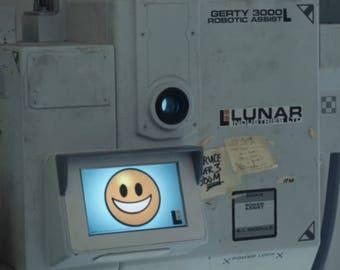 Lunar Industries ltd sticker decal MOON movie