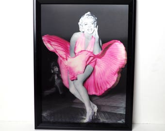 Holographic Marilyn Monroe Picture Very Kitsch
