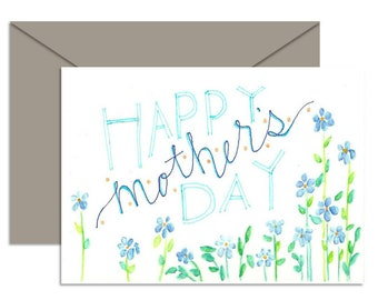 Gift for Mom Mothers Day Gift Digital Download Gifts for Mom Gifts Greeting Cards Printable PDF Instant Download Flowers