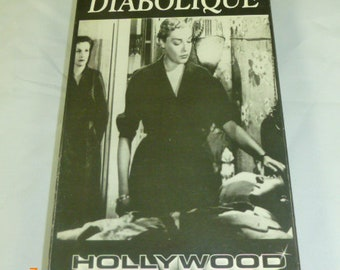 Diabolique Hollywood Classics VHS Simone Signort Vera Clouzot Charles Vanet Black & White Approx 107 Mins 1955