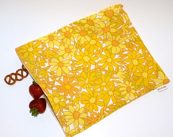 Reusable Eco Friendly Storage Bag. Recycled Fabric. Ready to Ship