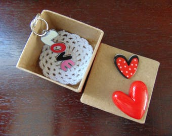 LOVE COLLECTION: love jewelry bag and decorated box