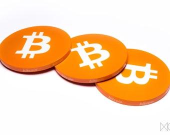Bitcoin Poker chip BTC