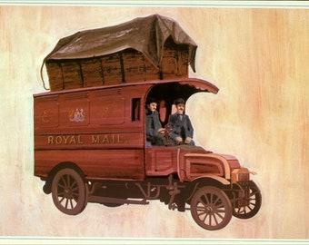 An Edwardian Royal Mail Postal Van