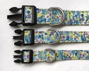 Bluebell Blossom Dog Collar