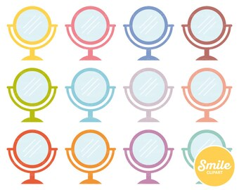 Mirror Clipart Illustration for Commercial Use | 0558