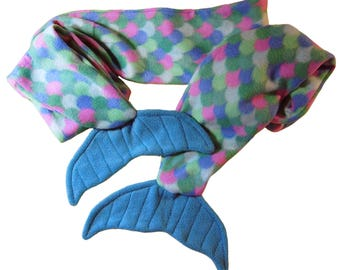 Blue Mermaid Scarf