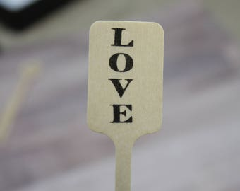 Love is Brewing Drink Stirrers