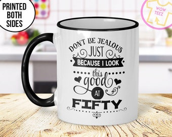 50th Mug 50th Birthday Mug 50th Gift Idea 50th Birthday Gift 1967 Birthday Mug 50th Birthday Idea 50 years old Funny 50th Gift Mug
