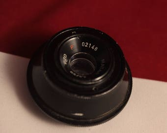 Vintage lens Matar PZO P 50 mm 1:4,5 screw mount m42 enlarging lens